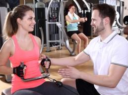 Beratung im Fitness-Studio